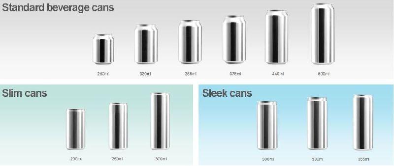 Aluminium Sleek Can