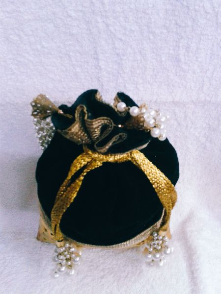 Brass Cutwork Jali Potli Purse 02