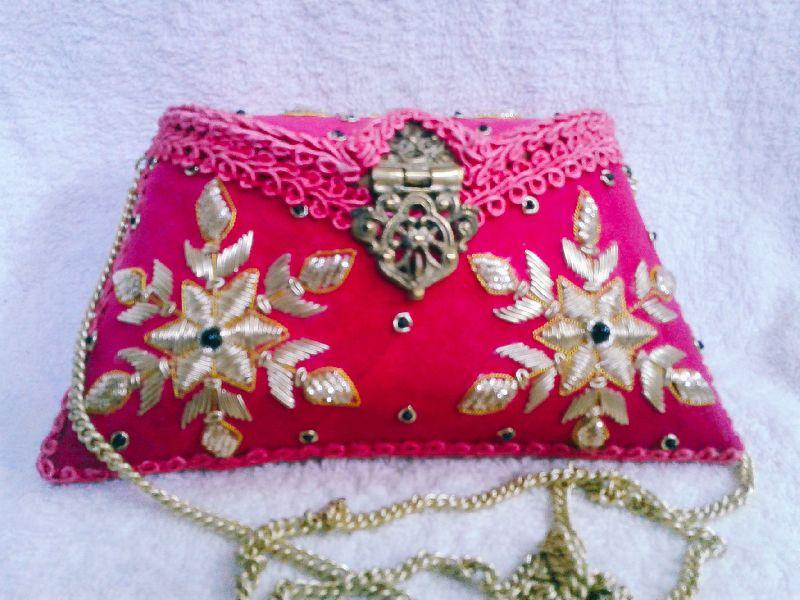 Suraj Embroidered Clutch Purse 01