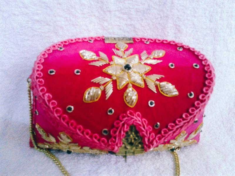 Suraj Embroidered Clutch Purse 02