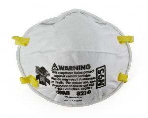 3M 8210 N95 Disposable Respirator