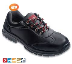 BS 9021 Black Steel Toe Safety Shoes