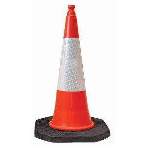 Safety Traffic Cone with Reflective Sleeve
