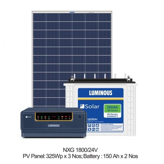 1500 VA Solar Off Grid Combo Set
