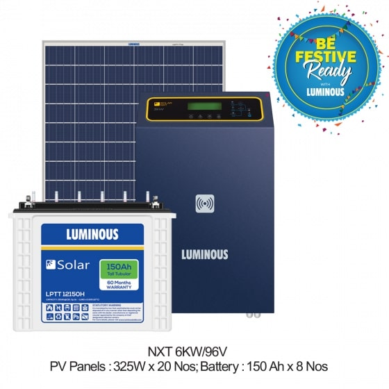 6 KW Solar Off Grid Combo Set