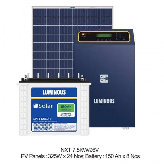 7.5 KW Solar Off Grid Combo Set