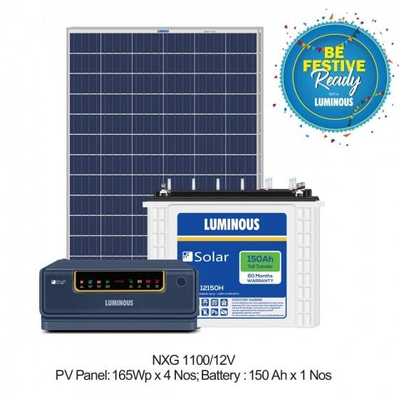 850 VA Solar Off Grid Combo Set