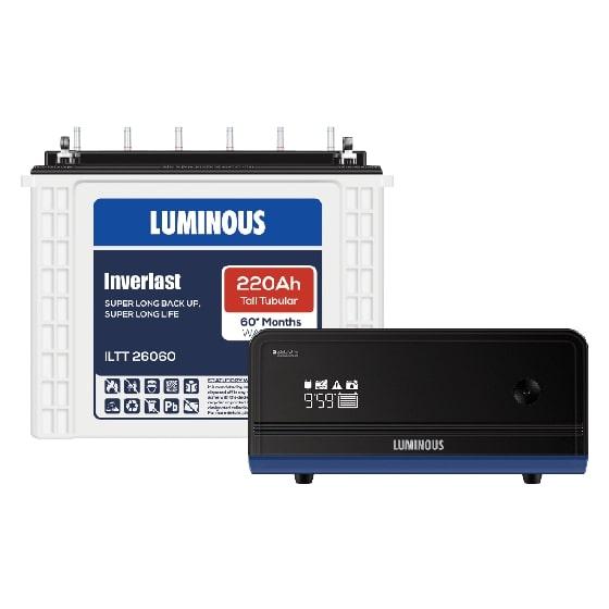 900VA Zelio 1100 & 220 Ah ILTT26060 Home UPS & Batteries Combo Set