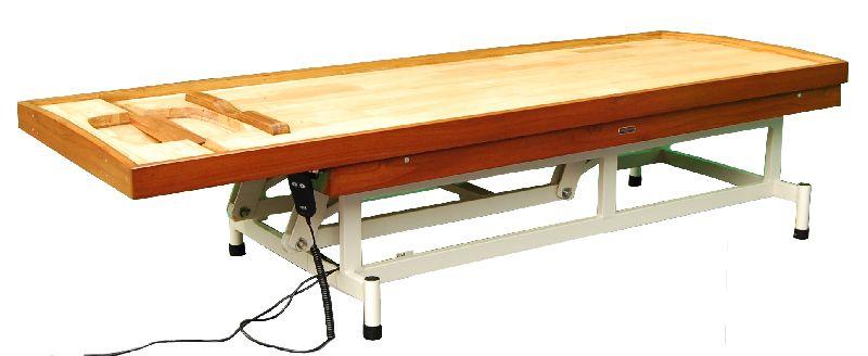 2286 Wooden Massage Cum Shirodhara Tables