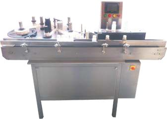Automatic Single Side Vertical Labeling Machine