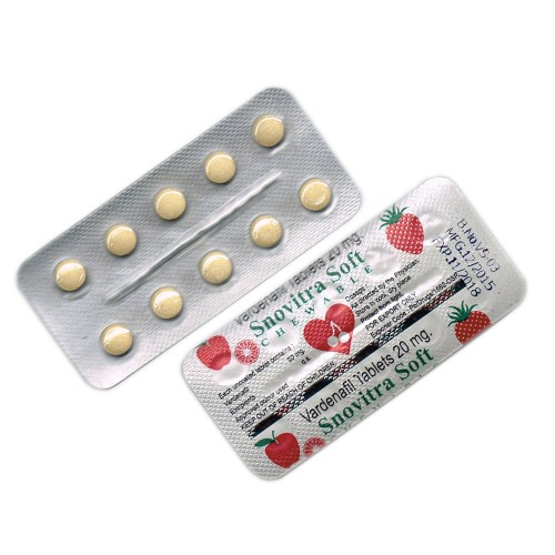 Snovitra Soft Chewable Tablets
