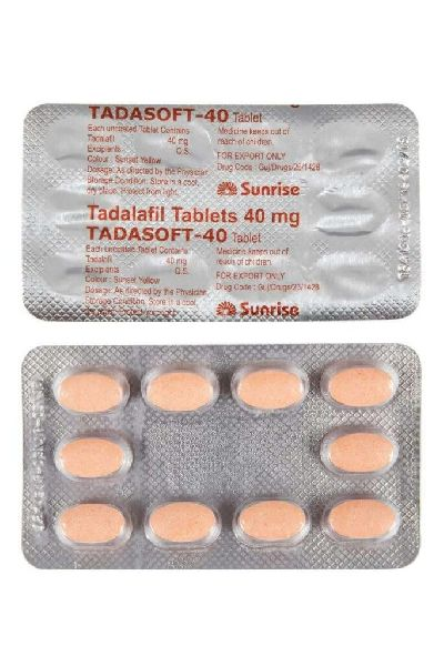 Tadasoft 40 Mg Tablets