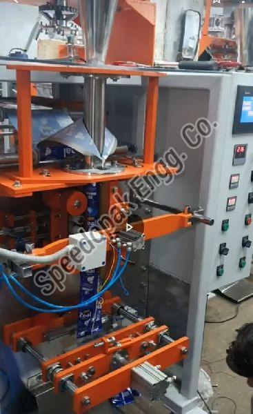 3 Kw PLC Based Pneumatic Collar Type Auger Machine