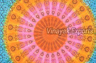Mandala Tye Dye Tapestry