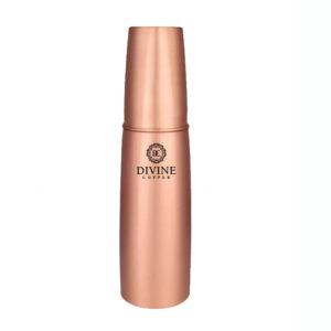 Copper Glass Water Bottle