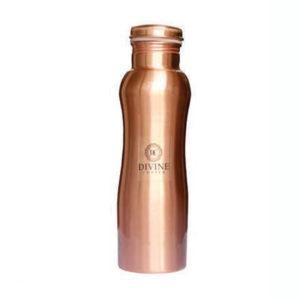 Curve Copper Water Bottle