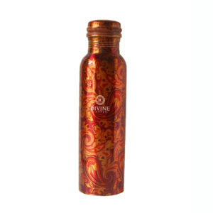 Q7 Digital Print Copper Water Bottle