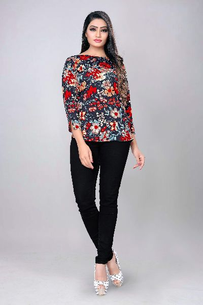 1013 Fancy Printed Top