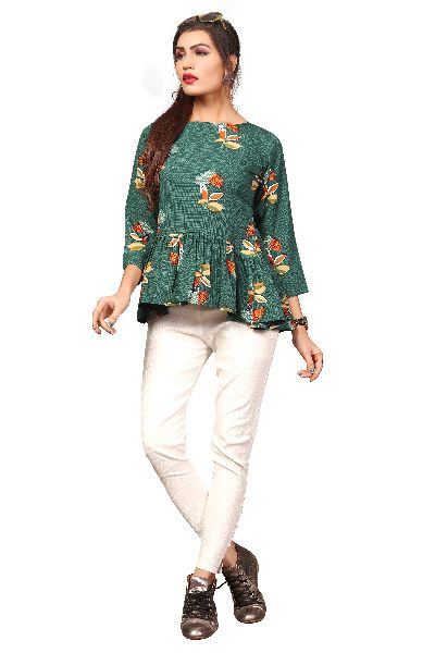 TP-152 Fancy Printed Top