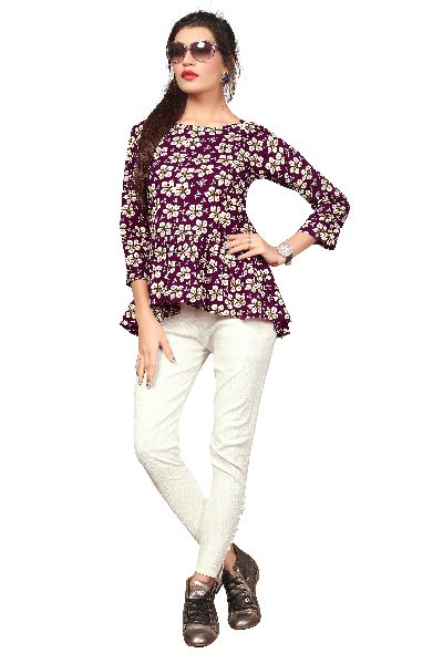TP-154 Fancy Printed Top