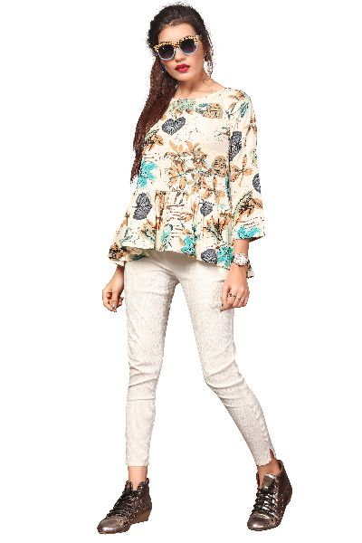 TP-155 Fancy Printed Top