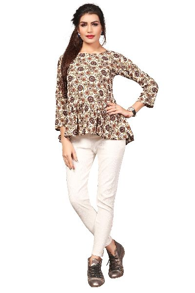 TP-156 Fancy Printed Top