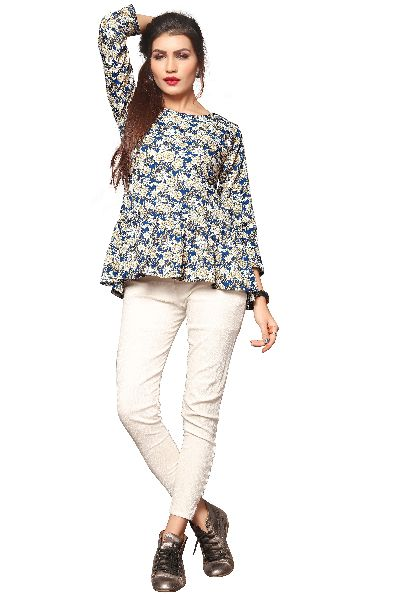 TP-157 Fancy Printed Top