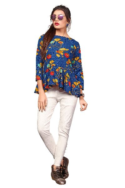 TP-158 Fancy Printed Top