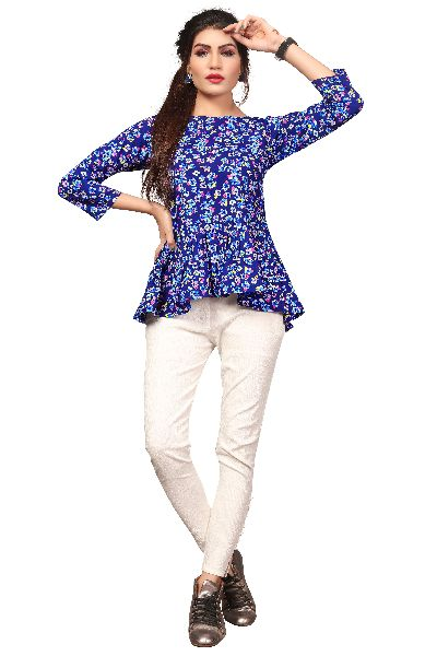 TP-159 Fancy Printed Top