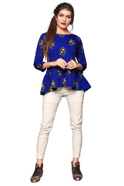 TP-160 Fancy Printed Top
