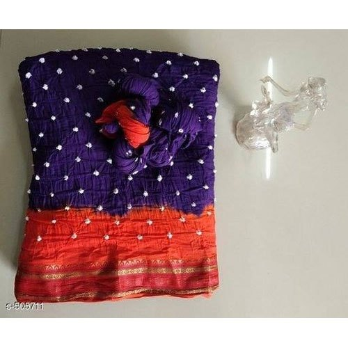 Bandhani Cotton Saree