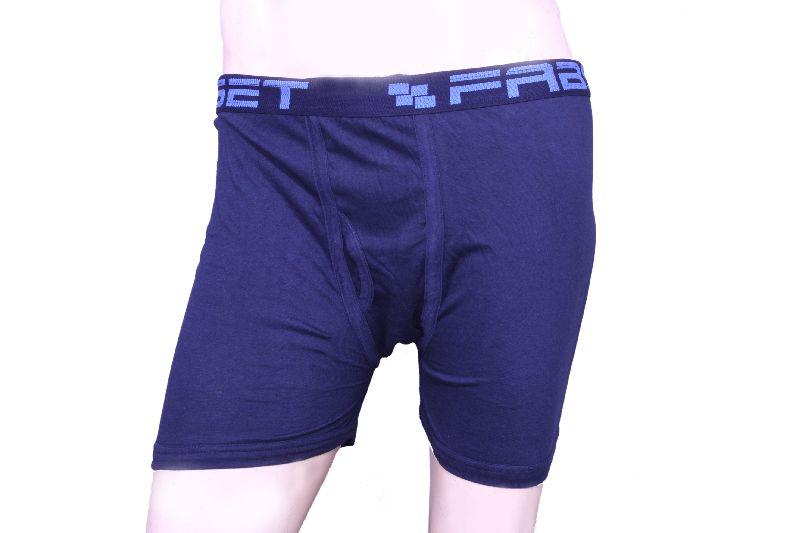 Blue Mens Underwear Front