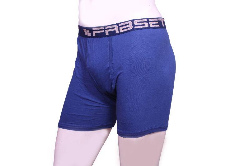 Blue Mens Underwear Side