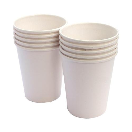 Disposable Plain Paper Glass