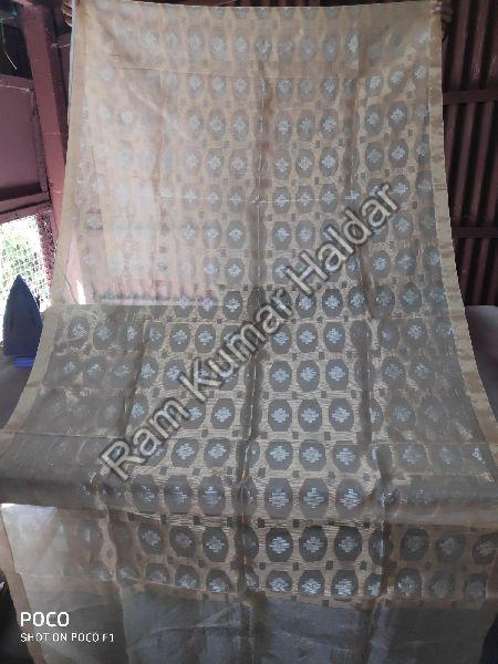 Embroidered Tussar Silk Dupatta