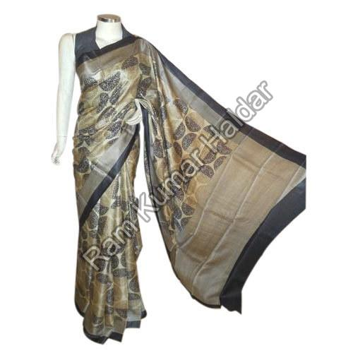 Stylish Tussar Silk Saree
