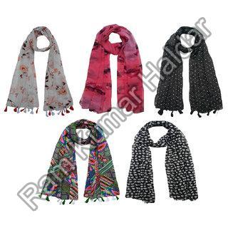 Tussar Silk Scarves