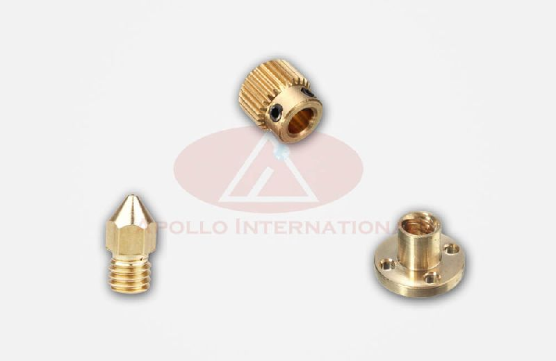 Brass 3D Printer Parts