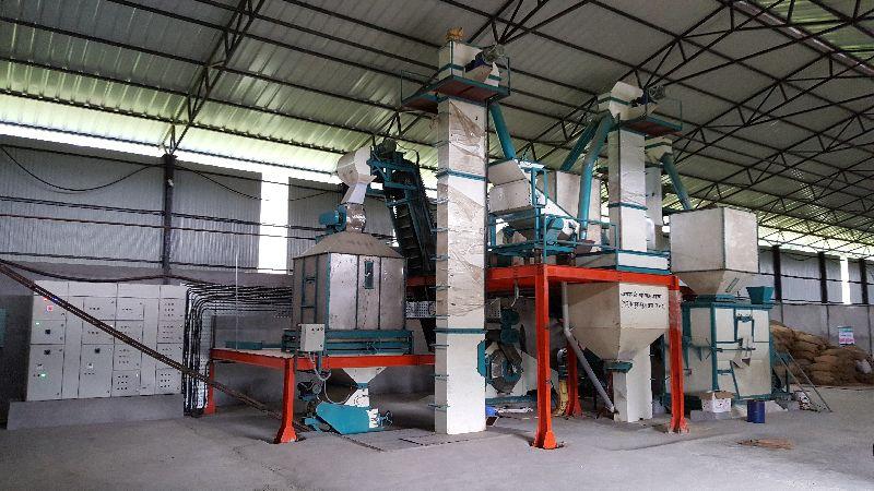 N Series Vertical Cattle Feed Pellet Plant