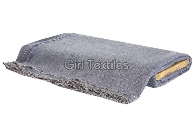 Drill Weave Cotton Grey Fabric
