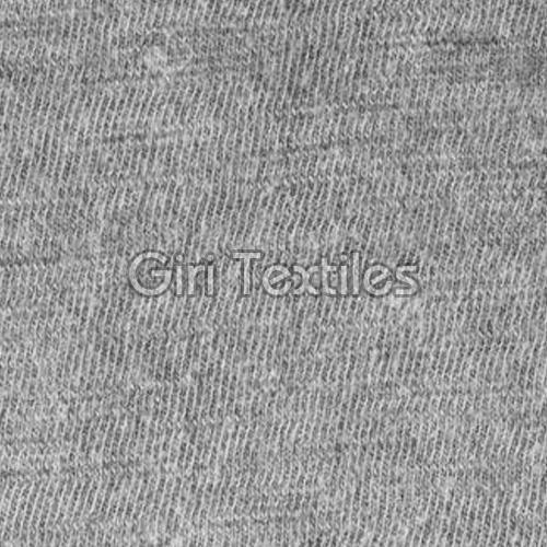 Plain Cotton Grey Fabric