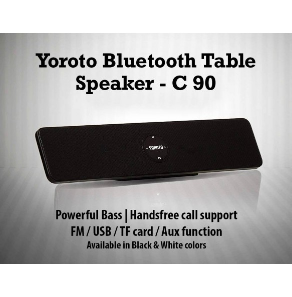 Black Bluetooth Speaker