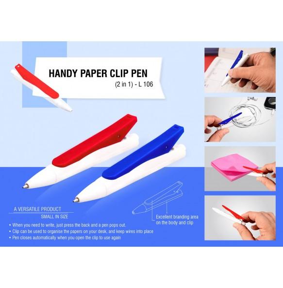 Handy Paper Clip Pen