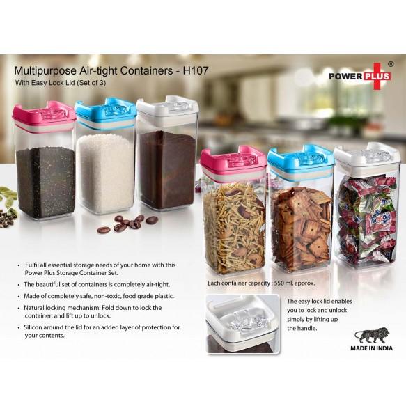 Multipurpose Air Tight Container Set
