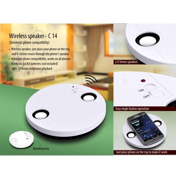 Power Plus Wireless Speaker