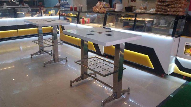 Stainless Steel Rectangular Table