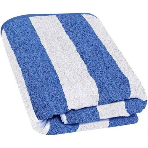 Striped Cotton Towel