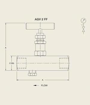 AGV 2 FF Gauge Vent Value