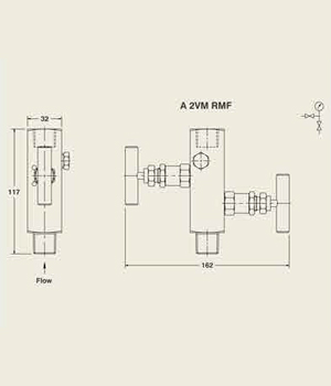 A 2VM RFM Manifold Valve
