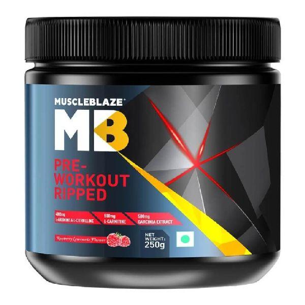 MuscleBlaze Pre-Workout Ripped